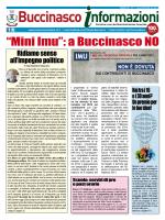 Gennaio/Febbraio 2014 - Comune di Buccinasco