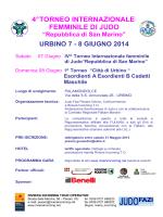 Torneo Internazionale San Marino - Riviera Incoming Tour Operator