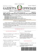 gazzetta ufficiale della repubblica italiana - Il sole 24 Ore