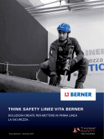 THINK SAFETY LINEE VITA BERNER - Home Page