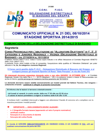 Com.21.15 - FIGC Veneto