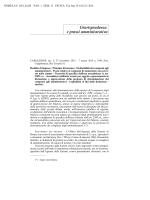 Giurisprudenza e prassi amministrativa