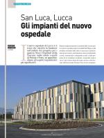 San Luca, Lucca Gli impianti del nuovo ospedale