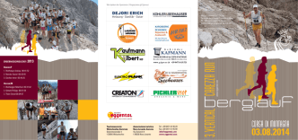 3. VERTICAL CAREZZA RUN - Dolomiti Sotto le Stelle