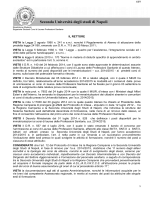 Ripartizione Studenti - Seconda Università degli Studi di Napoli