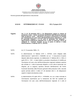 Determinazione n. 17514/641 del 27/06/2014