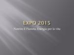 EXPO 2015 - Istituto Comprensivo di Castel Goffredo
