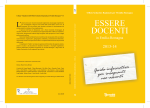 Essere docenti in Emilia-Romagna 2012