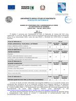 bando in italiano - Università degli Studi di Macerata