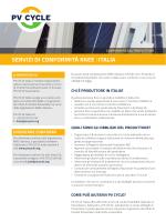 SERVIZI DI CONFORMITÀ RAEE   ITALIA
