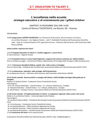 bozza programma convegno et2 25 novembre 2014
