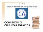COMPENDIO DI CHIRURGIA TORACICA