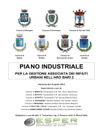 Piano Industriale ARO2