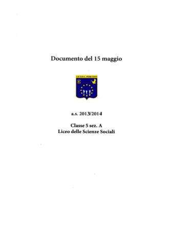 5As - Liceo Caterina Percoto di Udine