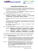 regolamento provinciale - 2014 - comitato verona tamburello