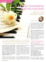 Le Note Aromatiche degli oli essenziali