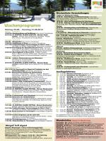Wochenprogramm - Spiss