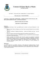 DET-166-2014 - Comune di Santa Maria a Monte