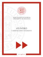 Guida ai servizi per gli studenti - Università degli Studi di Bologna