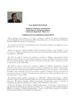 1 Prof. MARCO RUOTOLO Ordinario di diritto