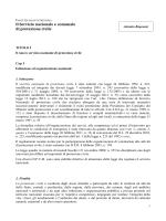 Il servizio nazionale e comunale di Protezione Civile