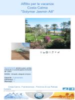 "Affitto per le vacanze Costa Calma ""Solymar Jasmin A8"""