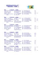 calenda-risultati Open a 11 Promozione A