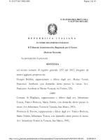 sentenza TAR Veneto 1132 del 2014