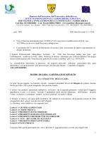 Bando derrate alimentari as 14-15 IPALBTUR VSG