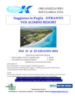 Soggiorno in Puglia OTRANTO VOI ALIMINI RESORT