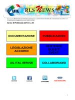 Newsletter n. 25 febbraio 2014