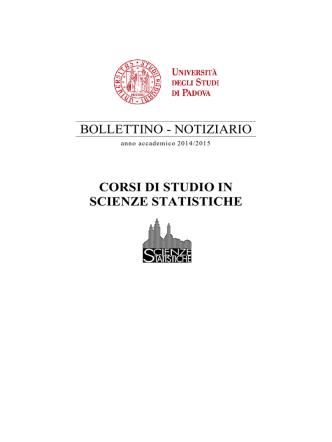 Bollettino A.A. 2014/2015 in formato