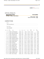19.12.2014 Veysonnaz (SUI) OFFICIAL RESULTS