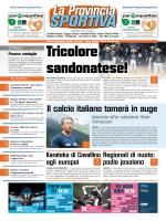 Il calcio italiano tornerà in auge
