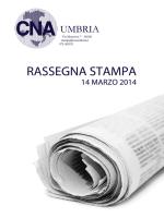 Rassegna stampa 14 marzo 2014