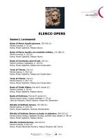 5. Elenco opere - Musei Capitolini