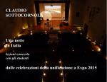 Sottocornola, Una notte in Italia booklet