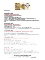 25/01/2015 ore 18:00 I corsi base Lezioni di cucina a