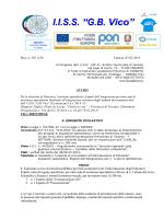 Bando assistenza spec. H 2014-`15