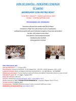 Seminario con Pietro Roat percepire energia Marzo