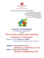 locandina - Arcidiocesi di Amalfi