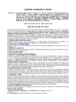 Scarica Disciplinare - Comune di Barano d`Ischia