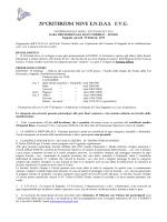Regolamento sci di fondo - CRAL SAF