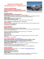 BardonecchiaNewsletter dal 26 gennaio al 1° febbraio 2015