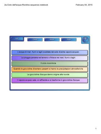 2a.Ciclo dell`acqua-Riordina sequenze.notebook