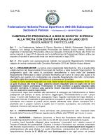 REGOLAMENTO Camp. Prov. Box Trota Lago 2015