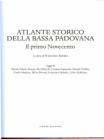 Atlante della Bassa Padovana. Il Primo Novecento. Indice.