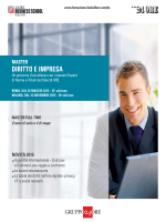Scarica la Brochure - Il Sole 24 Ore Business School