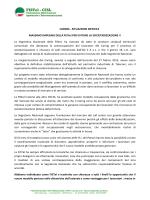 """Comunicato FISTEL-CISL Nazionale """"CARING"""