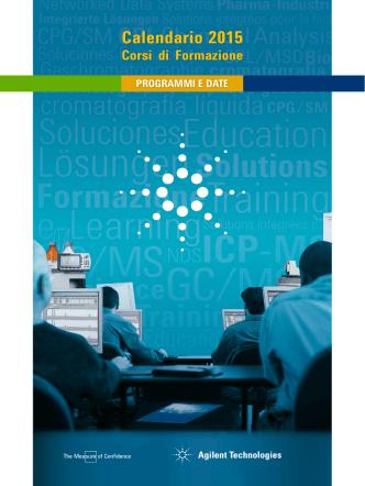 Calendario 2015 - Agilent Technologies